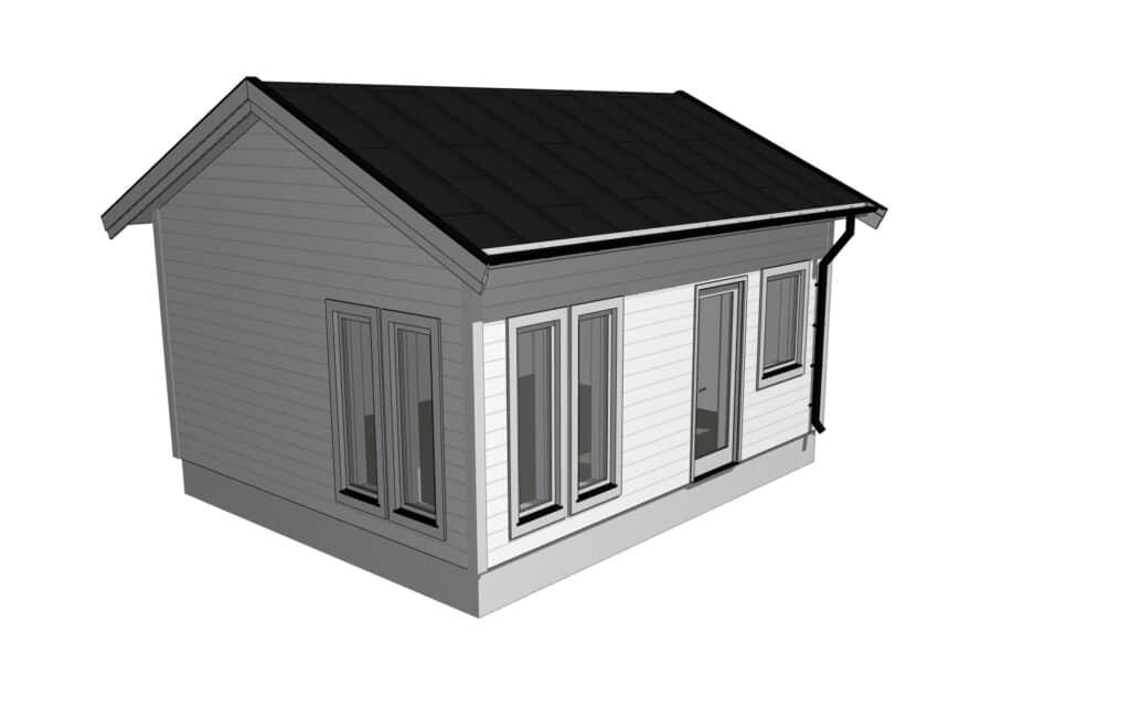 Bygga Fjällstuga, Attefallshus på 30 kvadratmeter