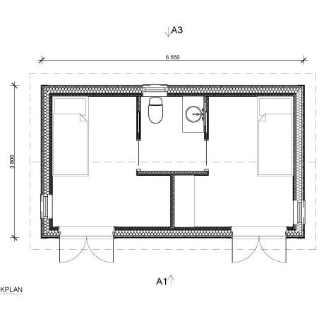 Bygga Fritidshus, Fjällstuga